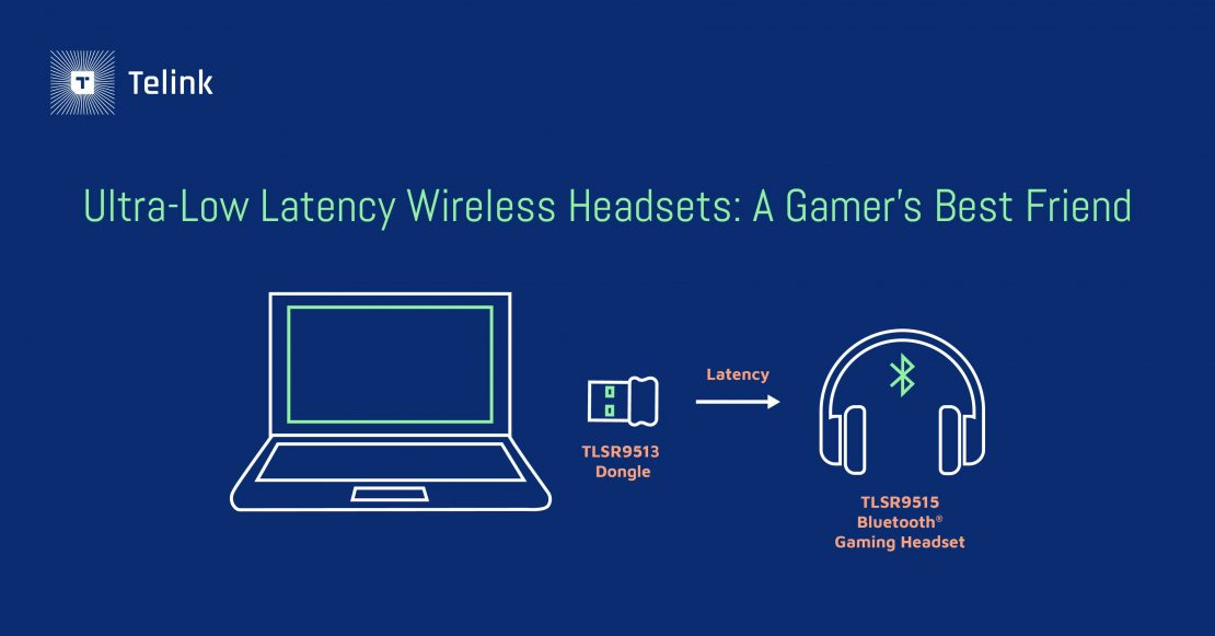 Ultra-low latency wireless headsets for gaming