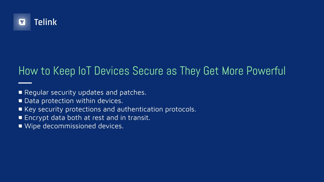 How to keep IoT devices secure