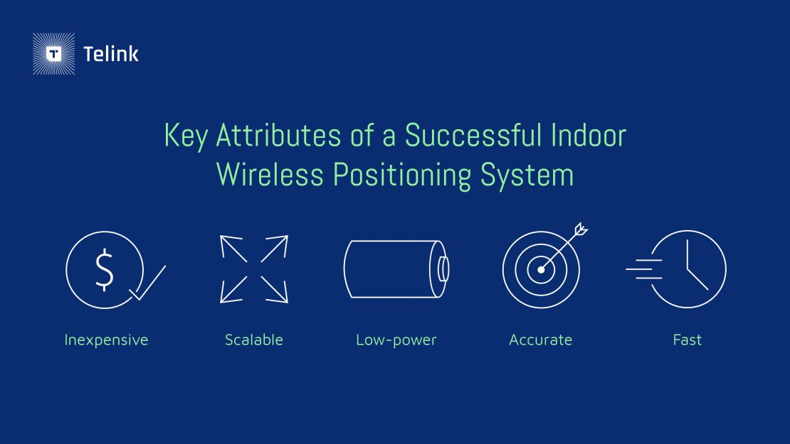 Key attributes of an indoor positioning system