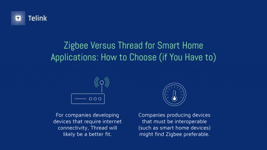 Zigbee vs. Thread: How to Choose
