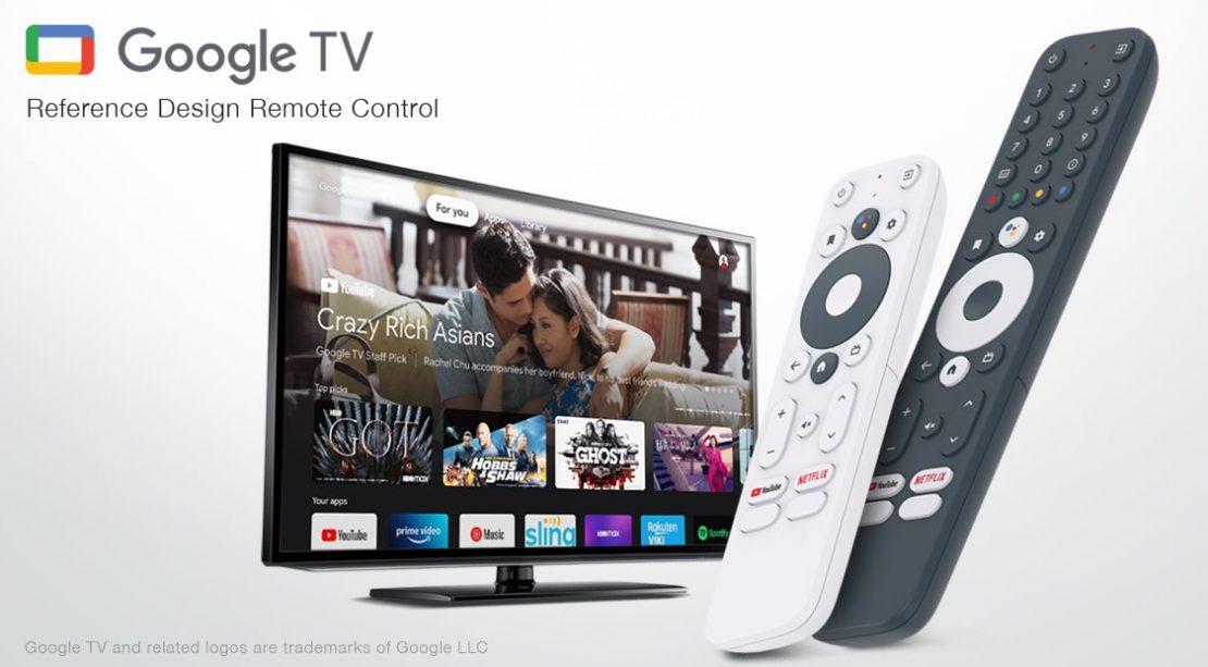Google TV RCU Reference Designs