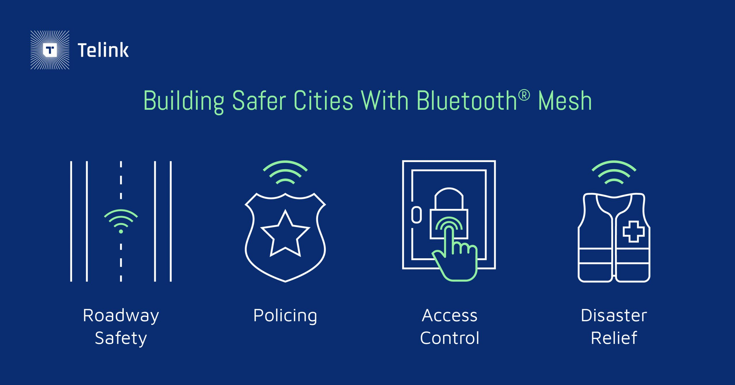 Building safer cities with Bluetooth Mesh